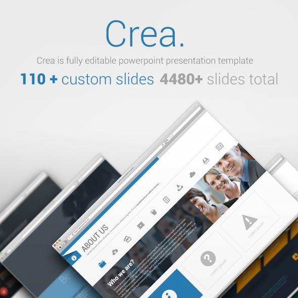 Crea Business Powerpoint Template