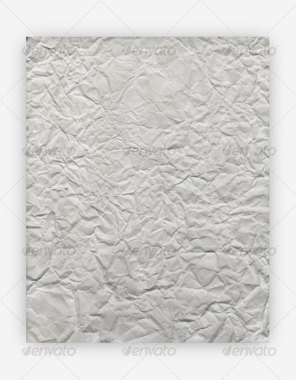 High-Res Wrinkled Paper Texture - Paper Textures