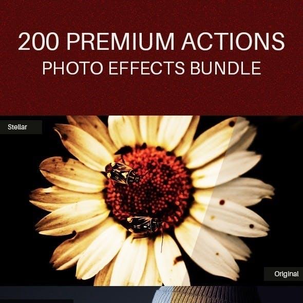 200 Premium Action Bundle