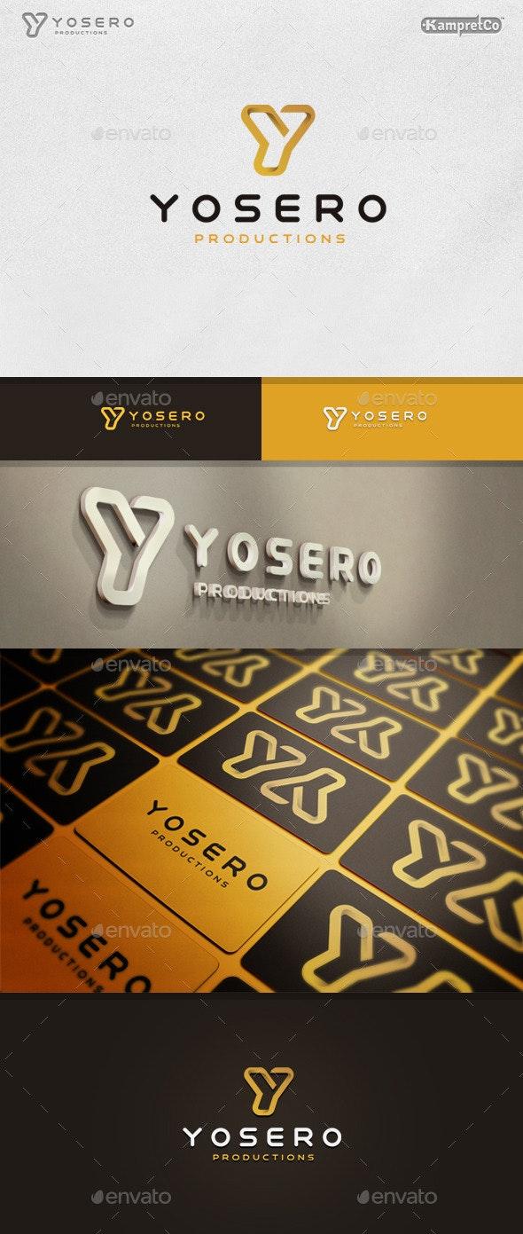 Y Letter oftware logo - Letters Logo Templates