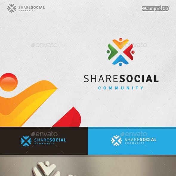 Share Social Logo