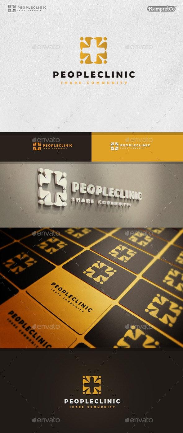 Clinic Social Logo - Humans Logo Templates