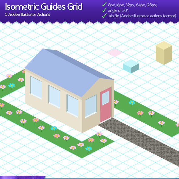 Isometric Guides Grid Action