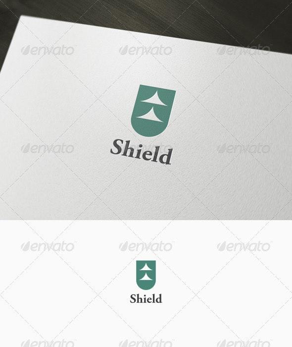Abtract Shield Logo - Vector Abstract