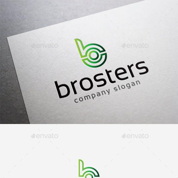 Brosters Logo