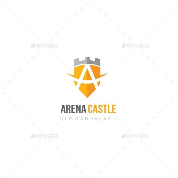A Letter Shield Logo - Letters Logo Templates