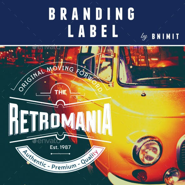 Branding Label Vol.1