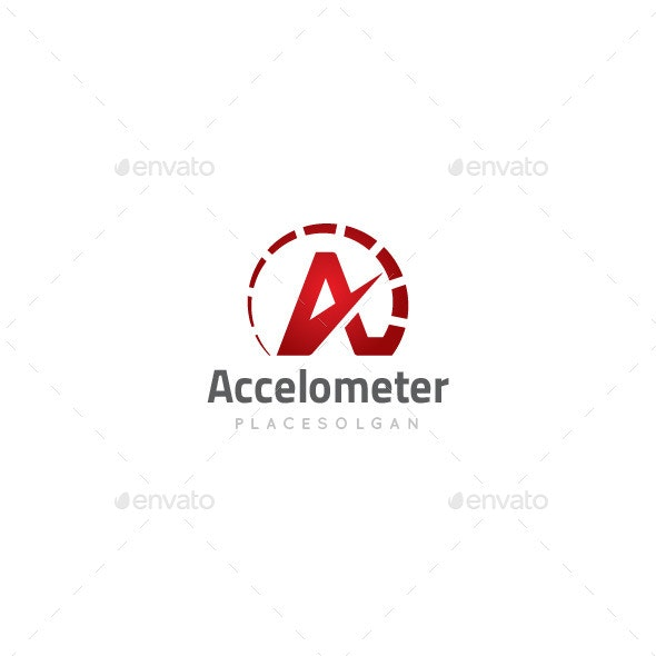 A Letter Speed Logo - Letters Logo Templates