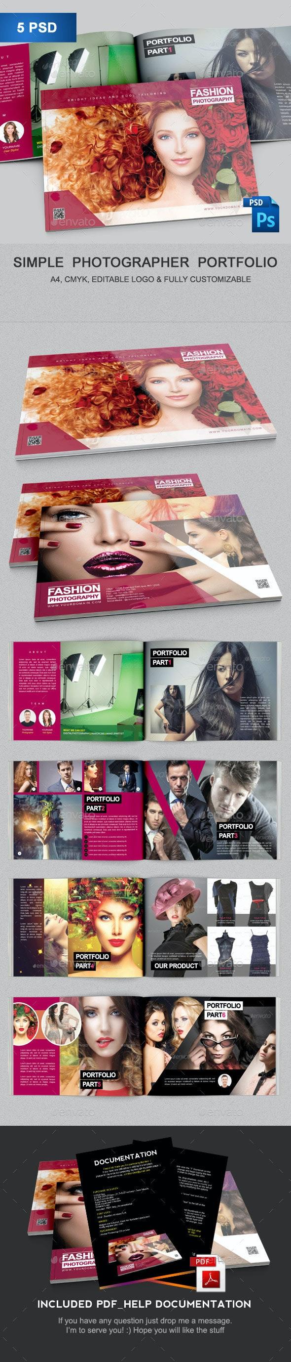 Brochure Portofolio Template  - Portfolio Brochures