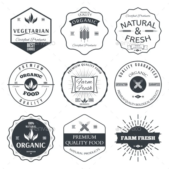 Labels and Badges