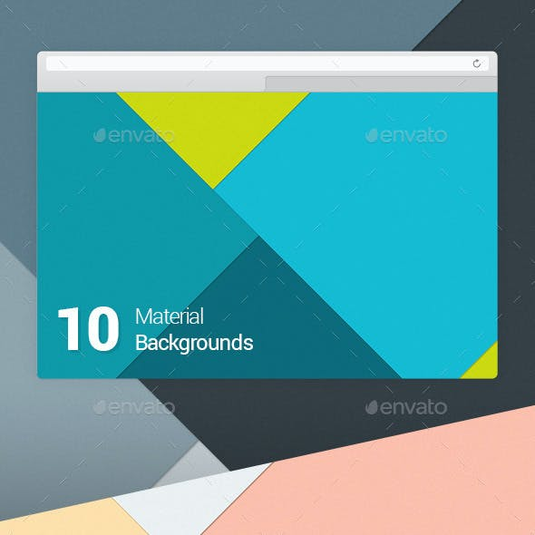 10 Material Design Backgrounds Vol 1