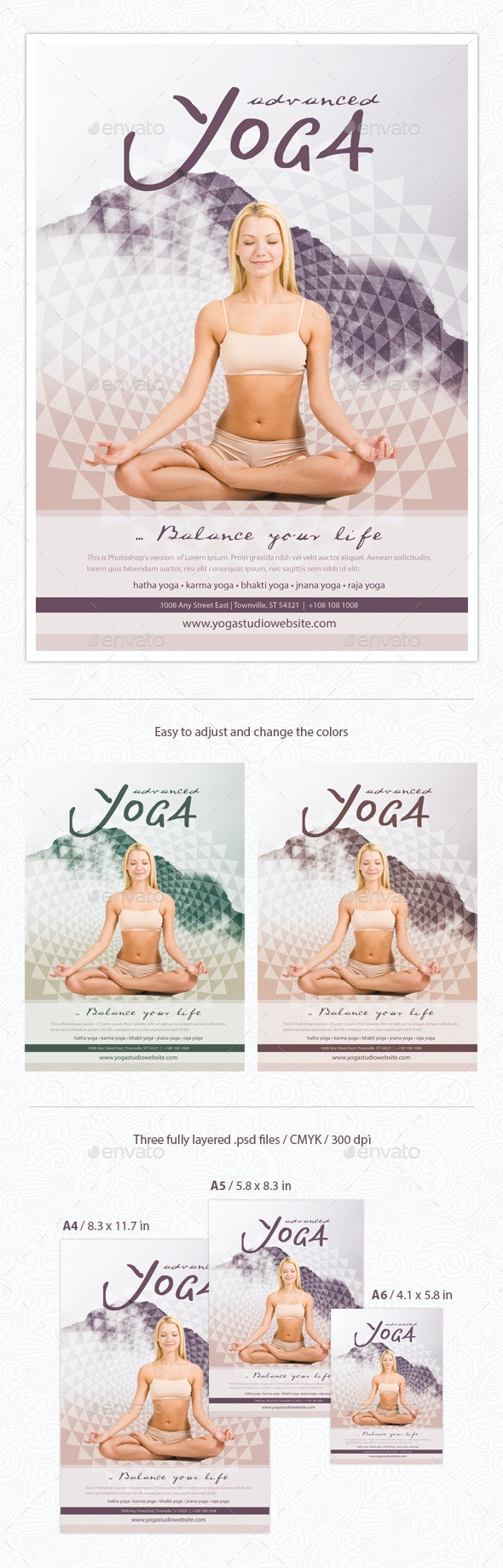 Yoga Flyer - Miscellaneous Events