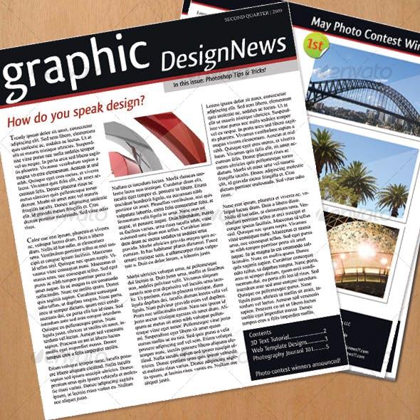 Simple Newsletter Design