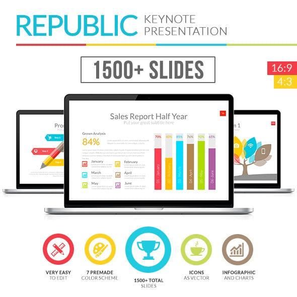 Republic - Multipurpose Keynote Template
