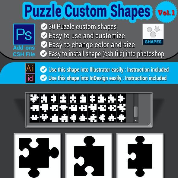 Puzzle Custom Shapes Vol.1