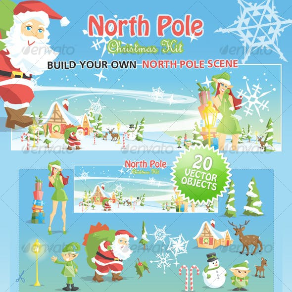 North Pole Christmas Kit
