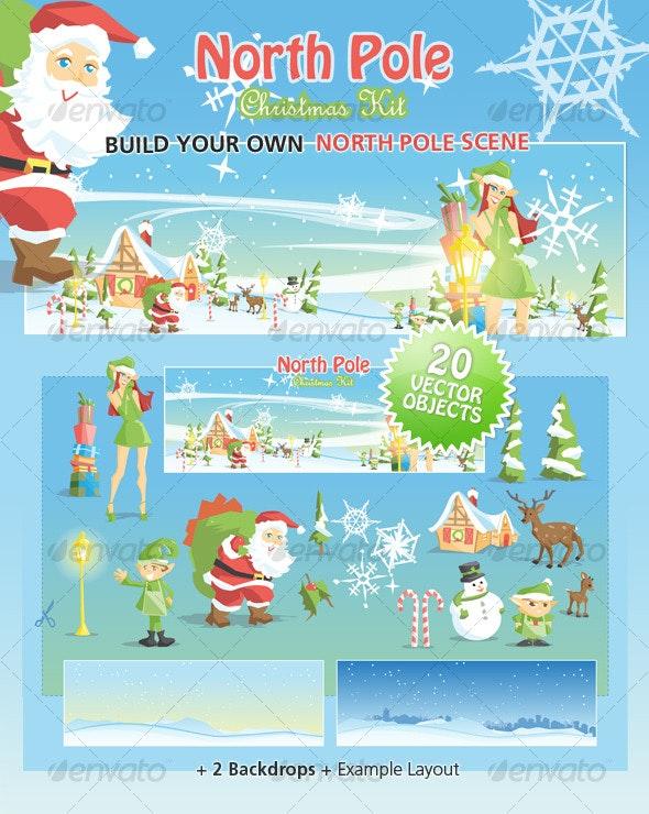 North Pole Christmas Kit - Christmas Seasons/Holidays