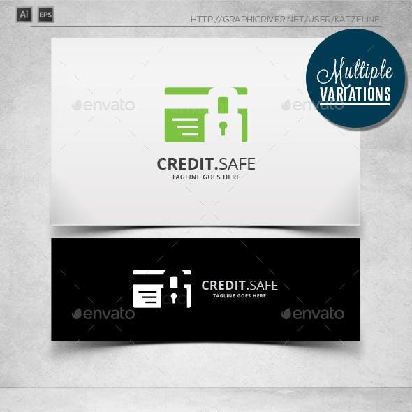 Credit Safe - Logo Template