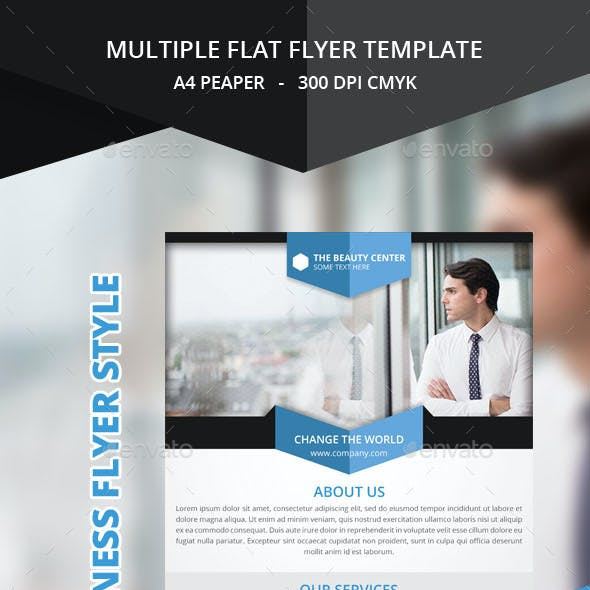 Multiple Flat Flyer Templates