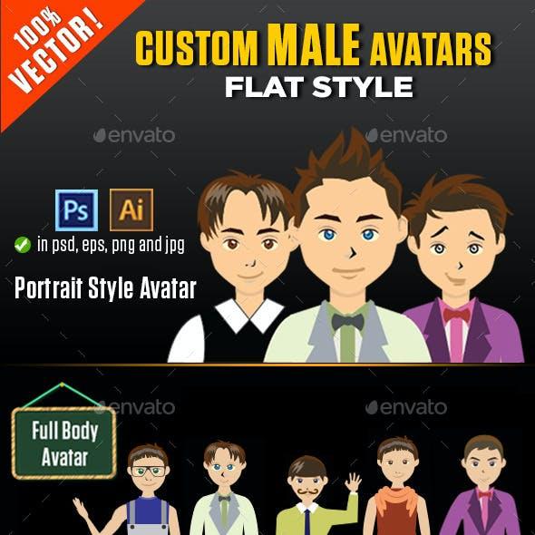 Custom Male Avatars