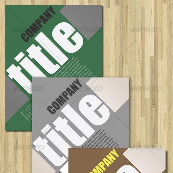 Creative Flyer Design