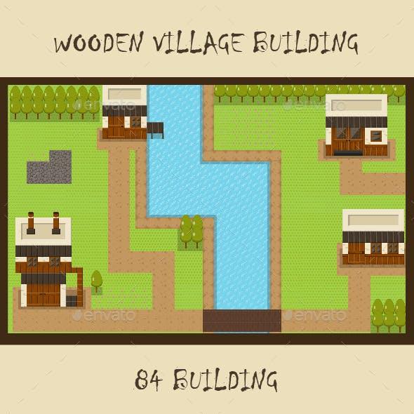 Wooden Vilage RPG Set