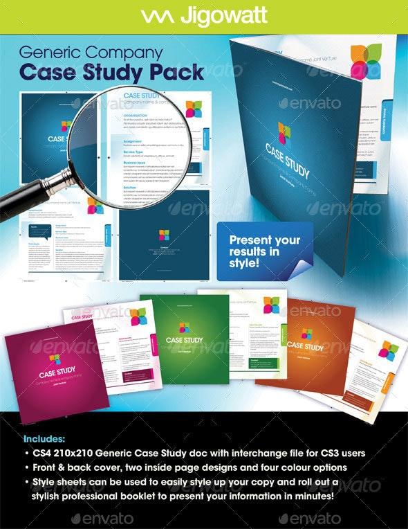 Generic Company Case Study - Corporate Brochures