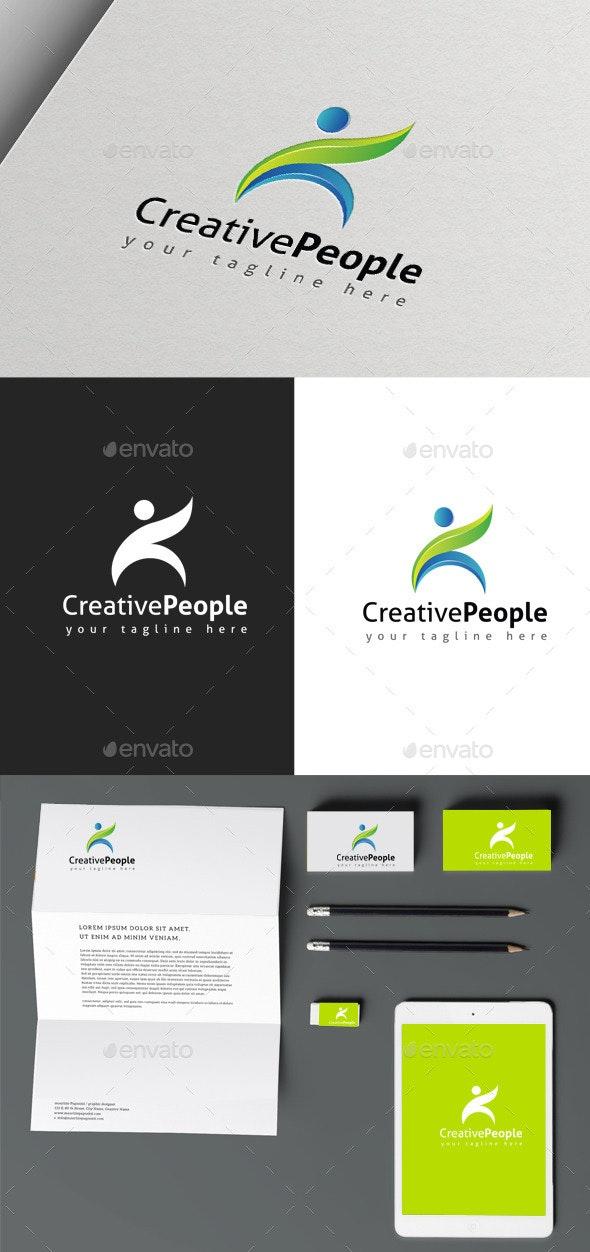 Creative People - Humans Logo Templates