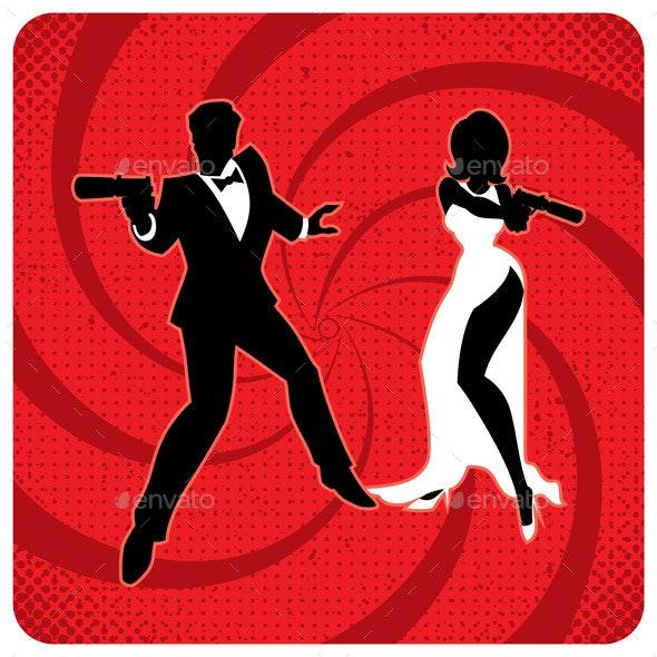 Spy Couple 2 - People Characters