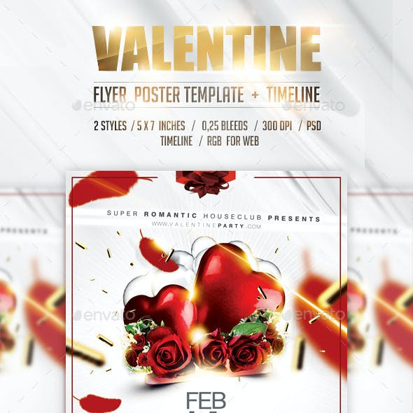 Christmas&Valentine Flyer/Poster Vol.2