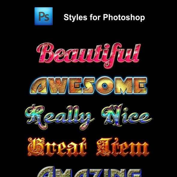 Beautiful Styles for Photoshop