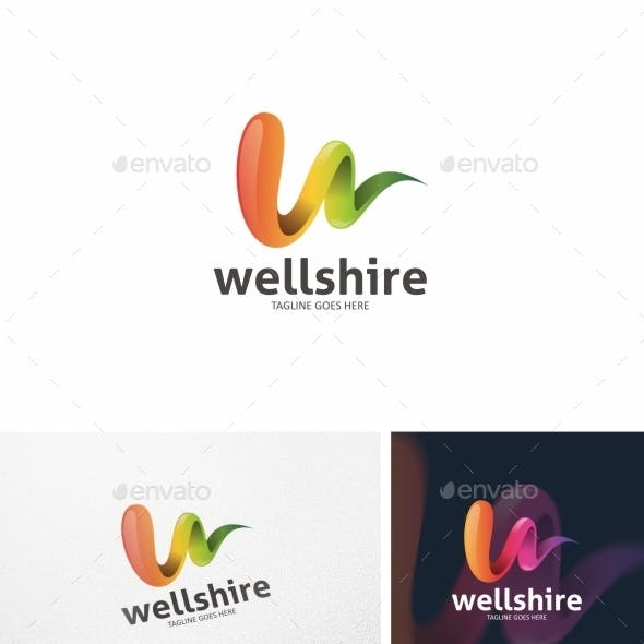 Wellshire - Logo Template