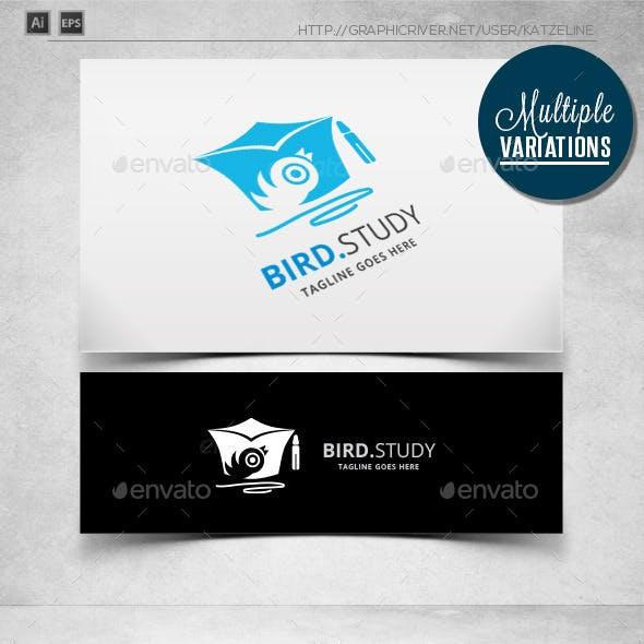 Bird Study - Logo Template