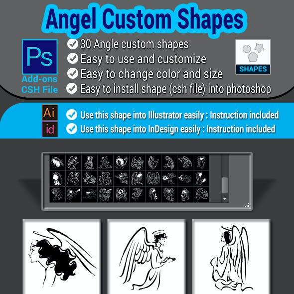 Angel Custom Shapes