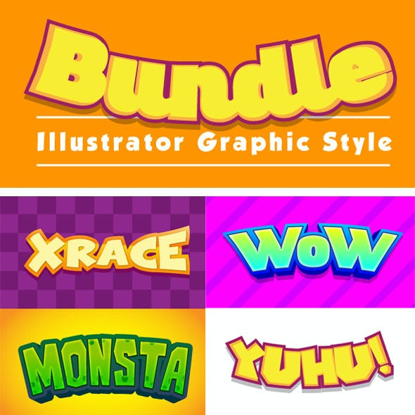 Graphic Styles Bundle 01