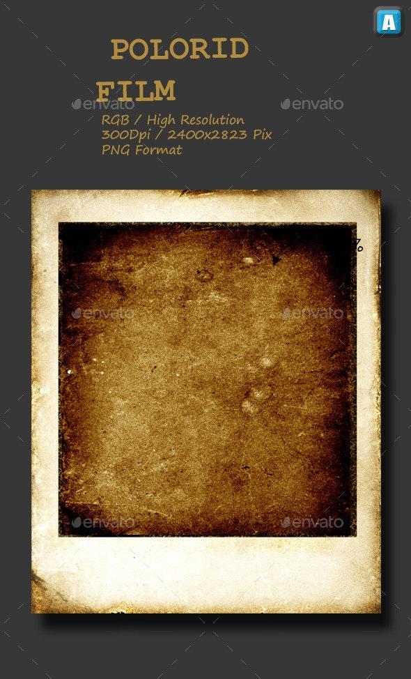 Polaroid Film 0007 - Isolated Objects