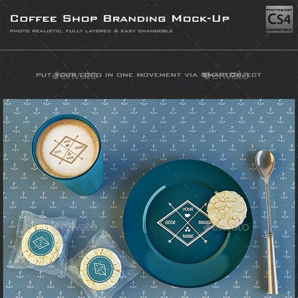 Coffee Shop Branding Mock-Up