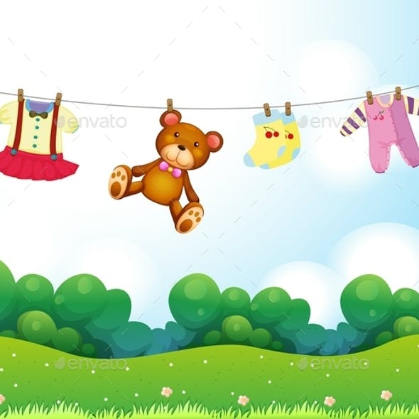 Baby Things Hanging