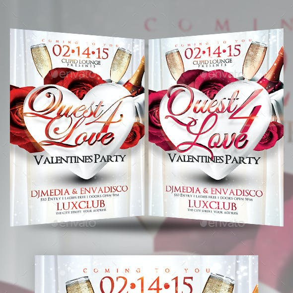 Valentines Quest for Love Party