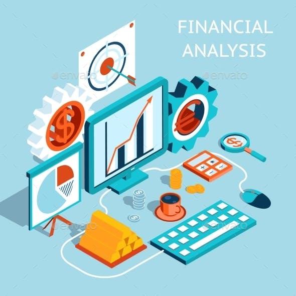3D Financial Analysis Concept Design