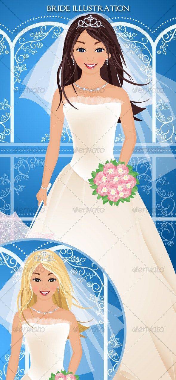 Bride Illustration - People Characters