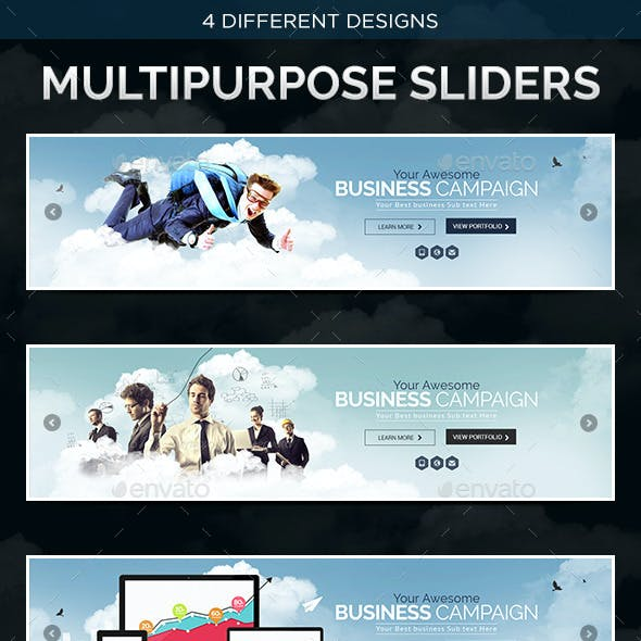 4 Multi Purpose Corporate Sliders