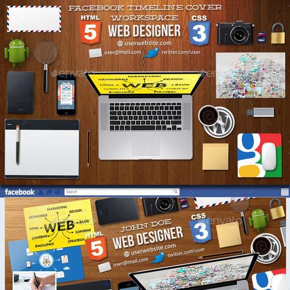 Web Designer Facebook Timeline Cover