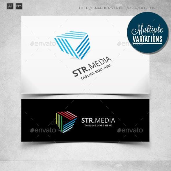 Cube Stream Media - Logo Template