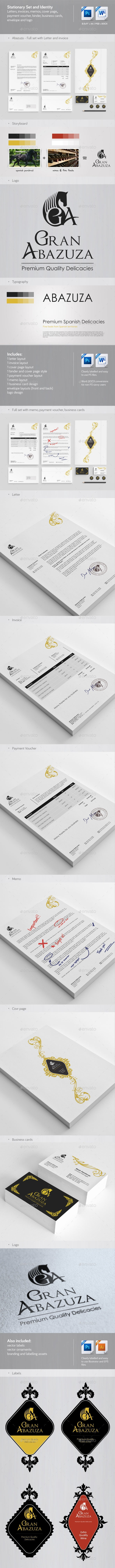 Corporate identity, stationery and brand assets - Stationery Print Templates