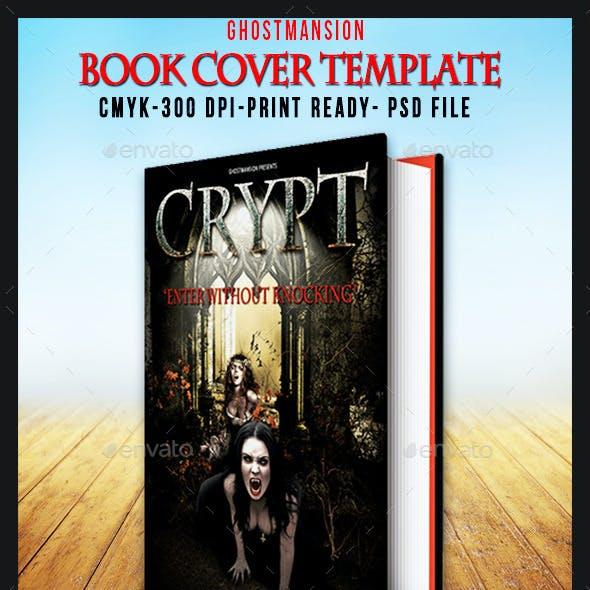 Book Cover Template PSD V1