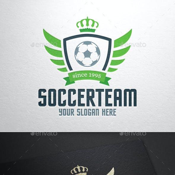 Soccer Team Logo Template