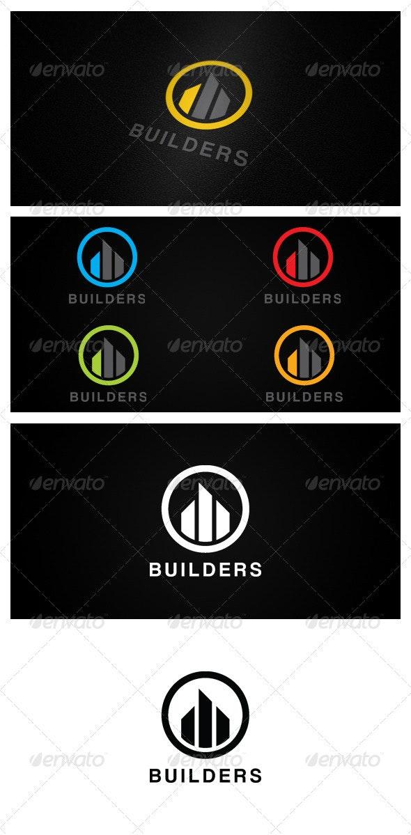 BUILDERS - Buildings Logo Templates