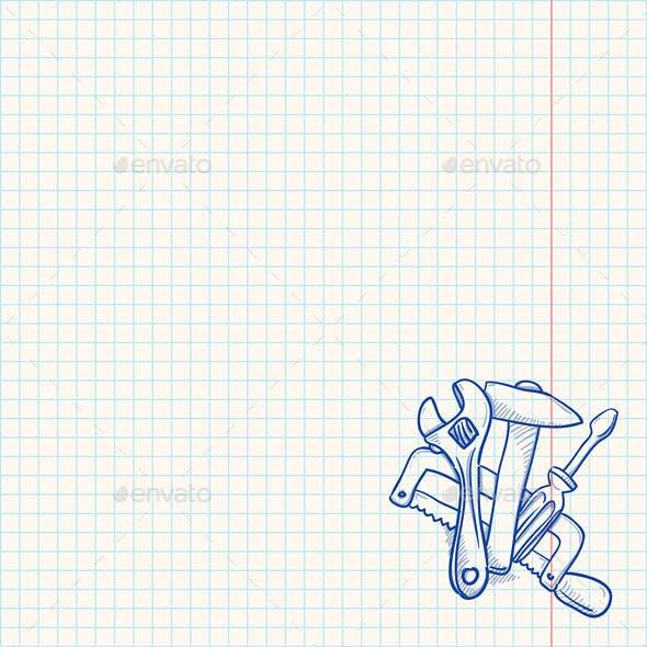 Maintenance Tools Drawing
