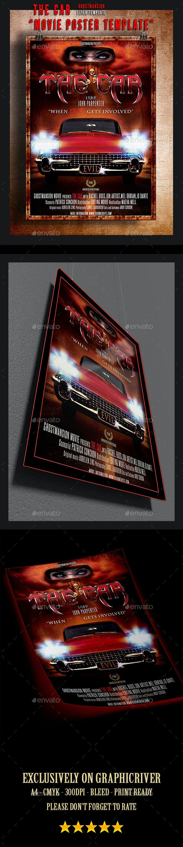 Fantastic Movie Poster Template - Miscellaneous Events